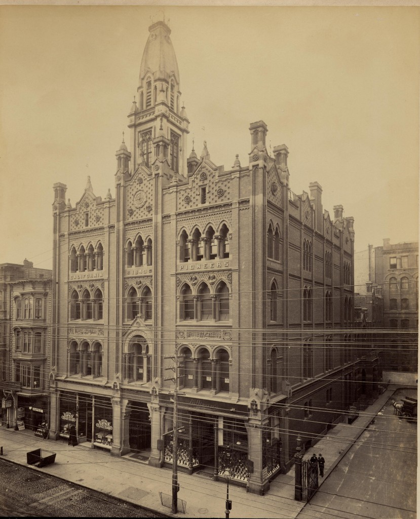 Pioneer Hall, Fourth Street & Pioneer Place, 1886-1906