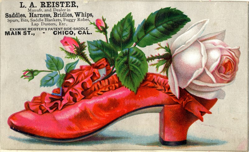 Trade Card, Chico, California