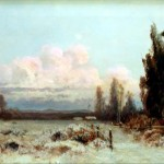Winter, Julian Walbridge Rix, oil on canvas, 1880
