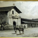 Mission Dolores, William Keith, oil on canvas (C001063)
