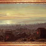 San Francisco at Night From Telegraph Hill (San Francisco By Moonlight), (Joachim) Ferdinand Richardt, oil on canvas, 1876 (C001081)