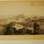 Scene from above Sullivan's Crossing/ Tuolumne Co, Cal., Thomas Almond Ayres, charcoal, chalk, pastel, pencil, 1855 (C002527)