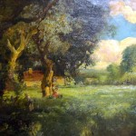 Untitled, landscape, William Keith, oil on canvas (C055173)